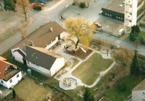 So sah das Gelände unserer KiTa vor 1993 aus.