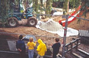 Im Jahr 2001 wurde das Außengelände naturnah umgestaltet.