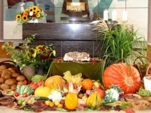 Unser Beitrag zum Ernte-Dank-Fest.