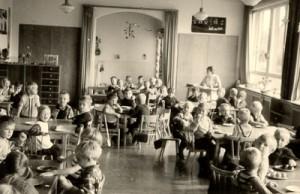 Die Räume in der KiTa im Jahre 1955.
