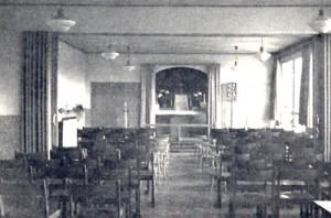 Unter der Woche gehörten die Räume dem Kindergarten, am Wochenende wurden sie als Kapelle genutzt.